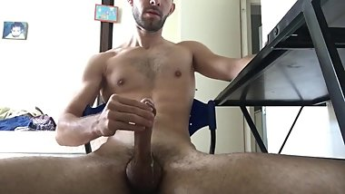 Hot Cumshot Compilation by a BIG FRENCH DICK