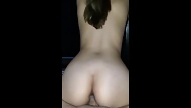 Slutty whore fucking step bro