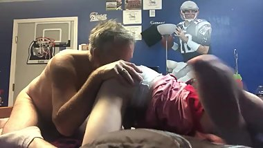 Grandpas friend caught me jerking, then this happened(