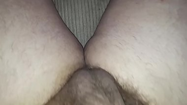 Chubby cock masturbation soft to hard and orgasm