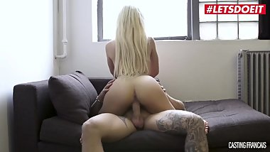 LETSDOEIT - Hot French Thot Goes Porn Casting