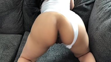 Young College Teen Twerks Her Phat Ass & Stuff Her Pussy