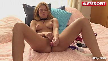 LETSDOEIT - Czech Teen Chrissy Fox Has Intense Orgasm Playing with Her Toys