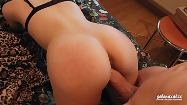 Morning Fuck With My Hot Teen Girlfriend - Amateur Couple