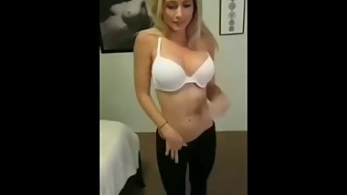 Best striptease with blowjob