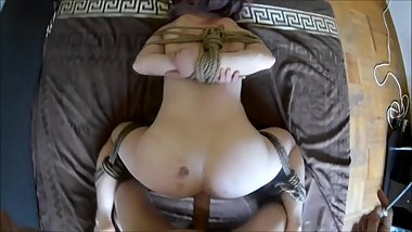 Bound, spank, fuck and suck girl