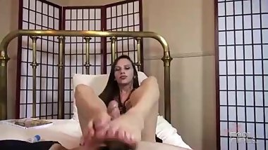 Brat High - Let's Start off with a Footjob Brat Girls Feet