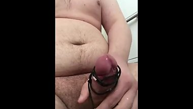 TEEN CUMS HANDSFREE VIBRATOR