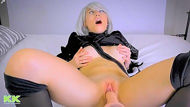 Fucking Hot Blonde AHEGAO - 1