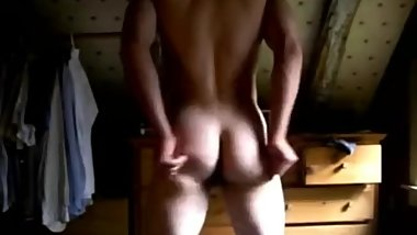 very cute boy shows super hot naked body