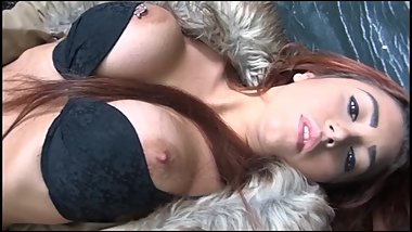 Naughty amateur flasher Dannii drops panties outdoors and masturbates