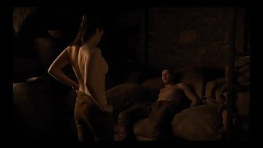 Arya Stark (Maisie Williams) Nude Sex Scene GoT S08E02
