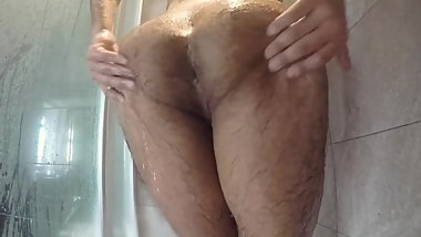 Washing and Twerking my Sissy Ass in the Shower