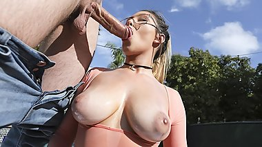 TeamSkeet - Big Tit Teen Plays By The Pool