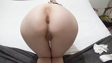 White Girl with Big Ass fucked in Hotel