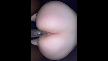 @RealTommyXXX Creaming Perfect Round Ass Snowbunny With 10 Inch BBC