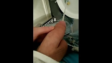 Solo Guy Pissing In Toilet
