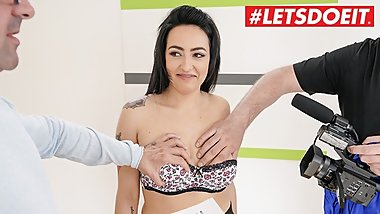 LETSDOEIT - Super Sexy Teen With Nice Tits Knows How to Fuck and Suck