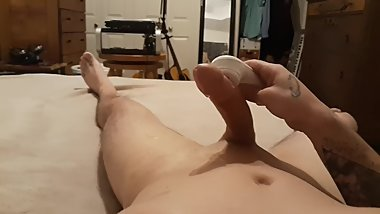 Edging with a vibrator