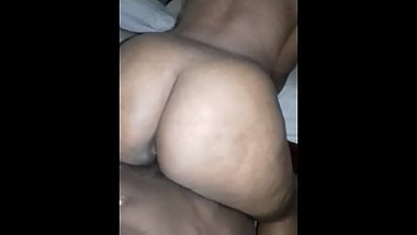 Ebony Thot Riding BBC Reverse Cowgirl